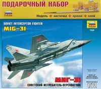 """Подарочный набор с моделью самолета """"МиГ-31"""""""