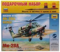 Подарочный набор с моделью вертолета Ми-28А