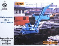 Железнодорожный кран RK-3 Bleichert
