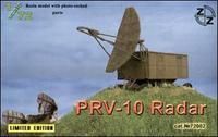 ZZ72002 PRV-10 Soviet radar, resin/pe