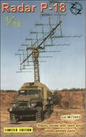 P-18 Soviet radar vehicle, plastic/resin/pe