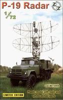 P-19 Soviet radar vehicle, plastic/resin/pe