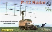 P-12 Soviet radar vehicle, plastic/resin/pe