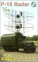 P-15 Soviet radar vehicle, plastic/resin/pe