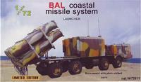 Бал береговой ракетный комплекс, пусковая установка