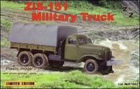 ZZ87002 Zis-151 military truck