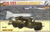 ZZ87019 ZiS-151 vehicle with P-15 anti-ship missile