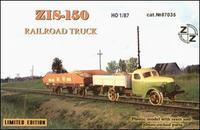 ZZ87035 ZiS-150 Soviet railroad truck