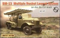 ZZ87036 BM-13 Soviet rocket launch system on ZiL-151 truck