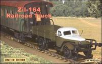 ZZ87038 ZiL-164 Soviet railroad truck